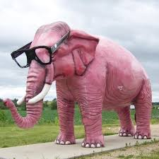 Denial: The elephant in your living room, or the alien on the Whitehouse lawn, take yourpick