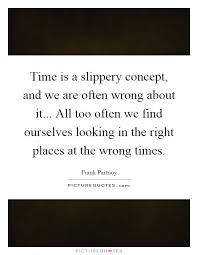 Slippery ideas…