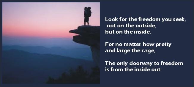 Look inward….