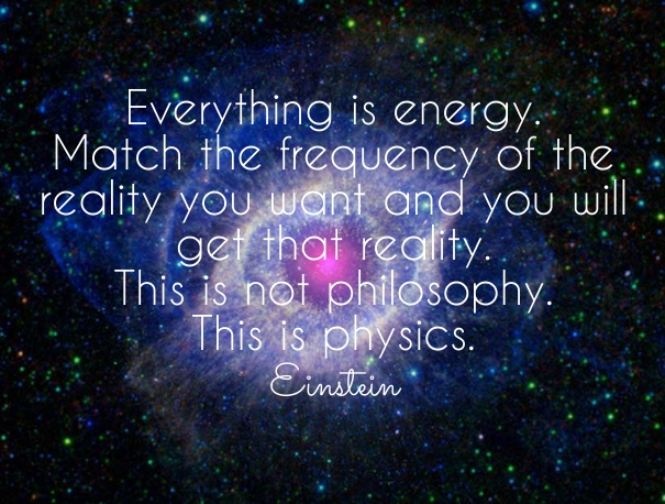 Energy follows Thought