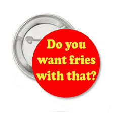 Enslaved by our OWN Free Will: with a side of fries, or 'whatthef*ck?'