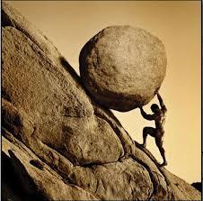 it's a rock…